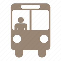 bus, car, driver, transport, transportation, travel, vehicle icon