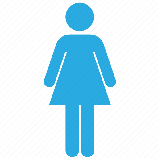 female, girl, human, person, profile, user, woman icon