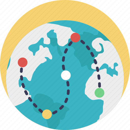 gps, map, map locator, map navigation, route icon