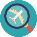 aeroplane, cheap flight, e ticketing, search flight, ticket booking icon