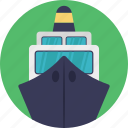 cargo ship, cruise, landing ship, logistics ship, sailing vessel icon