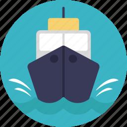 cruise, merchant ship, ship, travel, yacht icon
