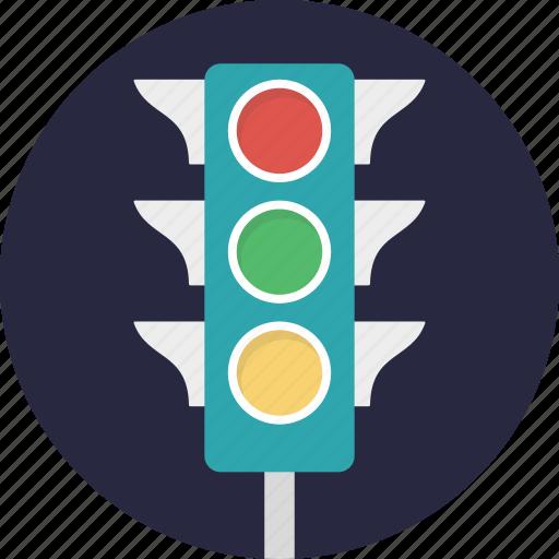 signal light, traffic lamps, traffic light, traffic sign, traffic signals icon