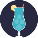 beach drink, beverage, cocktail, margarita, martini icon