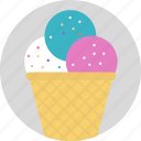 frozen food, ice cream, ice food, parfait, sundae icon