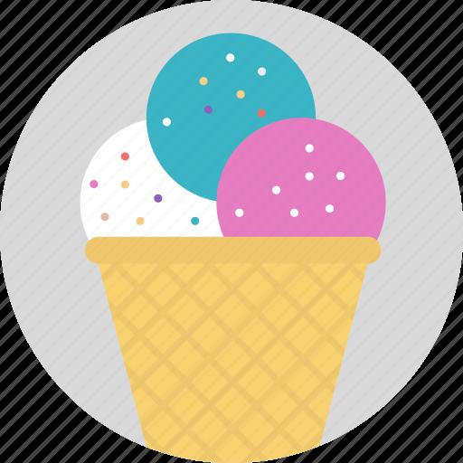 frozen food, ice cream, ice food, parfait, sundae icon