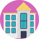family house, home, large house, residential building, villa icon