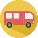 bus, car, holiday, summer, travel icon