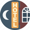 holiday, hotel, summer, travel, vacation icon