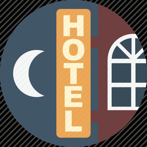 holiday, hotel, summer, travel, vacation icon