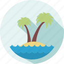 beach, holiday, summer, travel, vacation icon