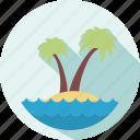 beach, holiday, summer, travel, vacation icon
