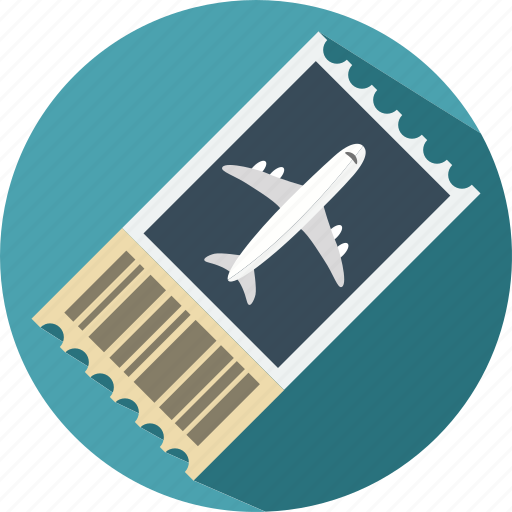 air ticket, holiday, summer, travel, vacation icon