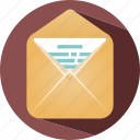 email, holiday, message, summer, travel icon