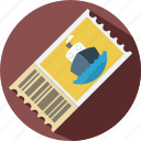 holiday, summer, train tickets, travel, vacation icon