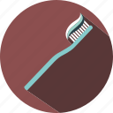 holiday, summer, toothbrush, travel, vacation icon