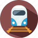 holiday, summer, train, travel, vacation icon