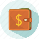 holiday, money, summer, travel, wallet icon