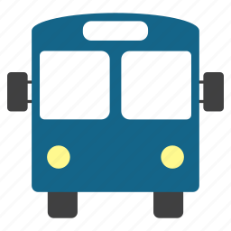 tourist bus, transfer, transport, transportation, travel, trip, vehicle icon