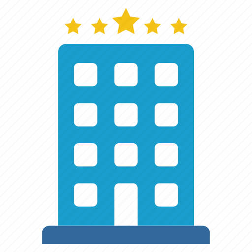 hotel stars, motel, rating, rooms, tourism, travel, vacation icon