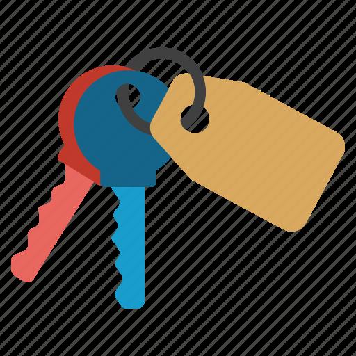 access keys, bunch, key chain, key trinket, keychain, secret, secure icon