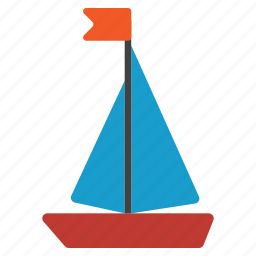 boat, cruise, sail, sailboat, sailing, ship, yacht icon