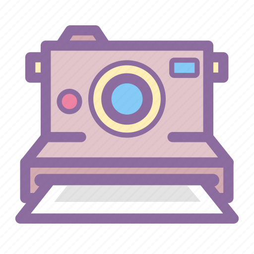 instant camera, photo, photography, polaroid, print icon