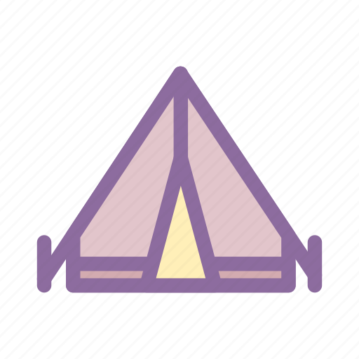 Camp, fun, log cabin, mountain, national park icon - Download on Iconfinder
