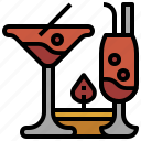 beverage, cocktail, drinks, food, glass, glasses icon