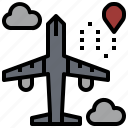 aeroplane, airplane, airport, flight, plane, transport, travel icon