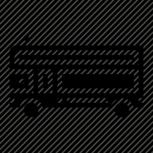 Bus, public, school, transportation, vehicle icon - Download on Iconfinder