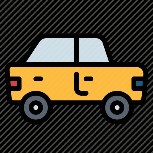 automobile, car, transport, travel icon