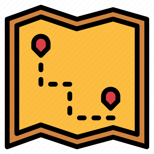 Geography, location, map, position icon - Download on Iconfinder