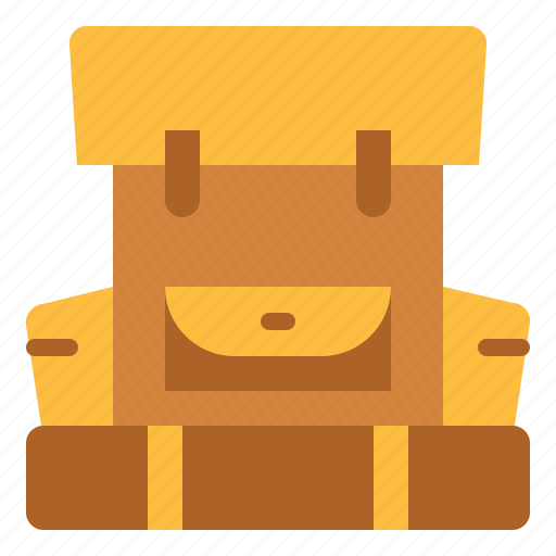 Backpack, backpacking, bag, travel, trip icon - Download on Iconfinder