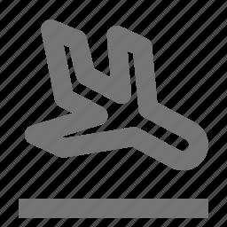 airplane, arrival, landing, plane, transportation icon