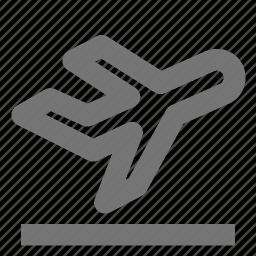 airplane, departure, plane, transportation icon