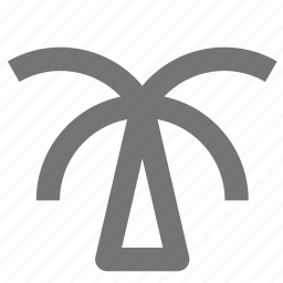 beach, holiday, palm, summer, travel, tree, vacation icon
