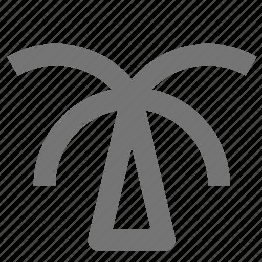 palm tree, tree icon