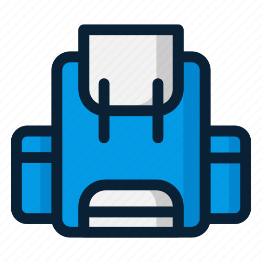 backpack, bag, travel icon