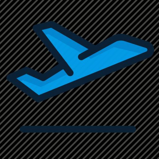 flight, plane, takeoff icon