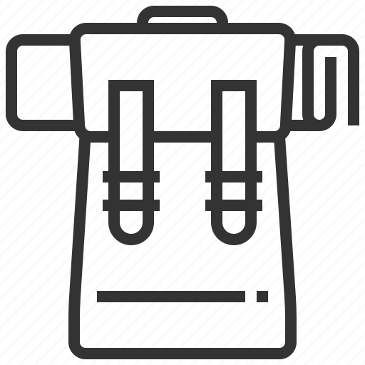 bag, briefcase, camping, outdoor, suitcase, travel, vacation icon