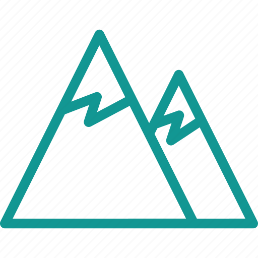 ice, icecold, mountain, snow, snowing, trail icon