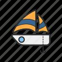 .svg, boat, sea, ship, travel icon