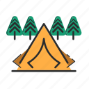 .svg, camp, camping, outdoor, travel icon