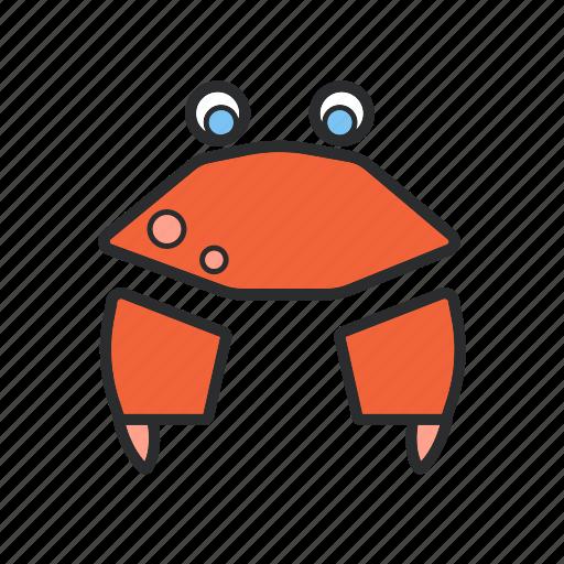 .svg, beach, crab, ocean, sea icon
