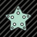 .svg, ocean, sea, starfish, summer icon