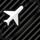 plane, trip, round