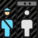 security, officer, scanner