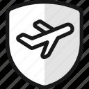 travel, insurance, shield