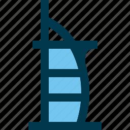 burj al arab, dubai, hotel, landmark, uae icon